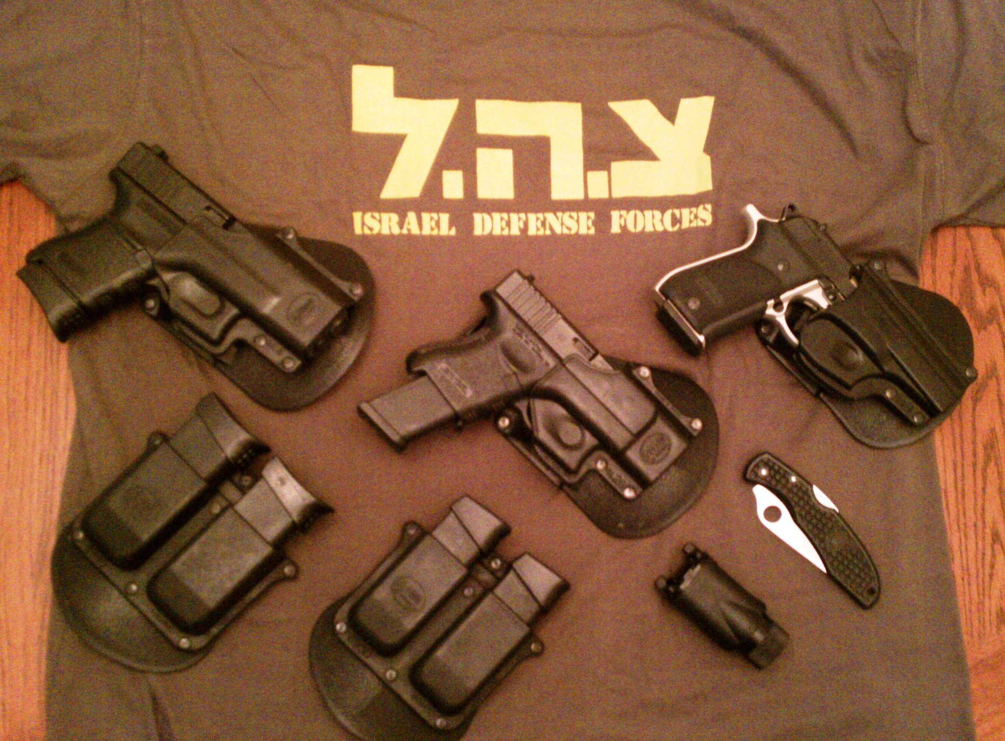 IDF Paratroopers T-Shirt and Ball-Cap & Counter Terror School T-Shirt