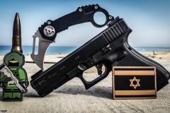 Israeli Flag PVS Patch & Pocket IDF Soldier Patch