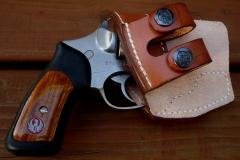 Front Line Ruger SP-101 Leather Holster