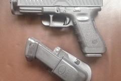 Fobus Glock Single magazine pouch, FAB Defense TacticSkin & IMI Defense IWB Holster