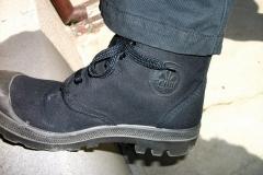 Black Paladium Boots