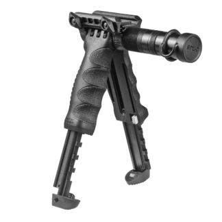 FAB Defense bi-pod with flashlight T-POD-G2-SL