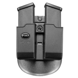 "Fobus H&K USP Tactical .45 ACP Double Magazine Pouch ""6945G"""