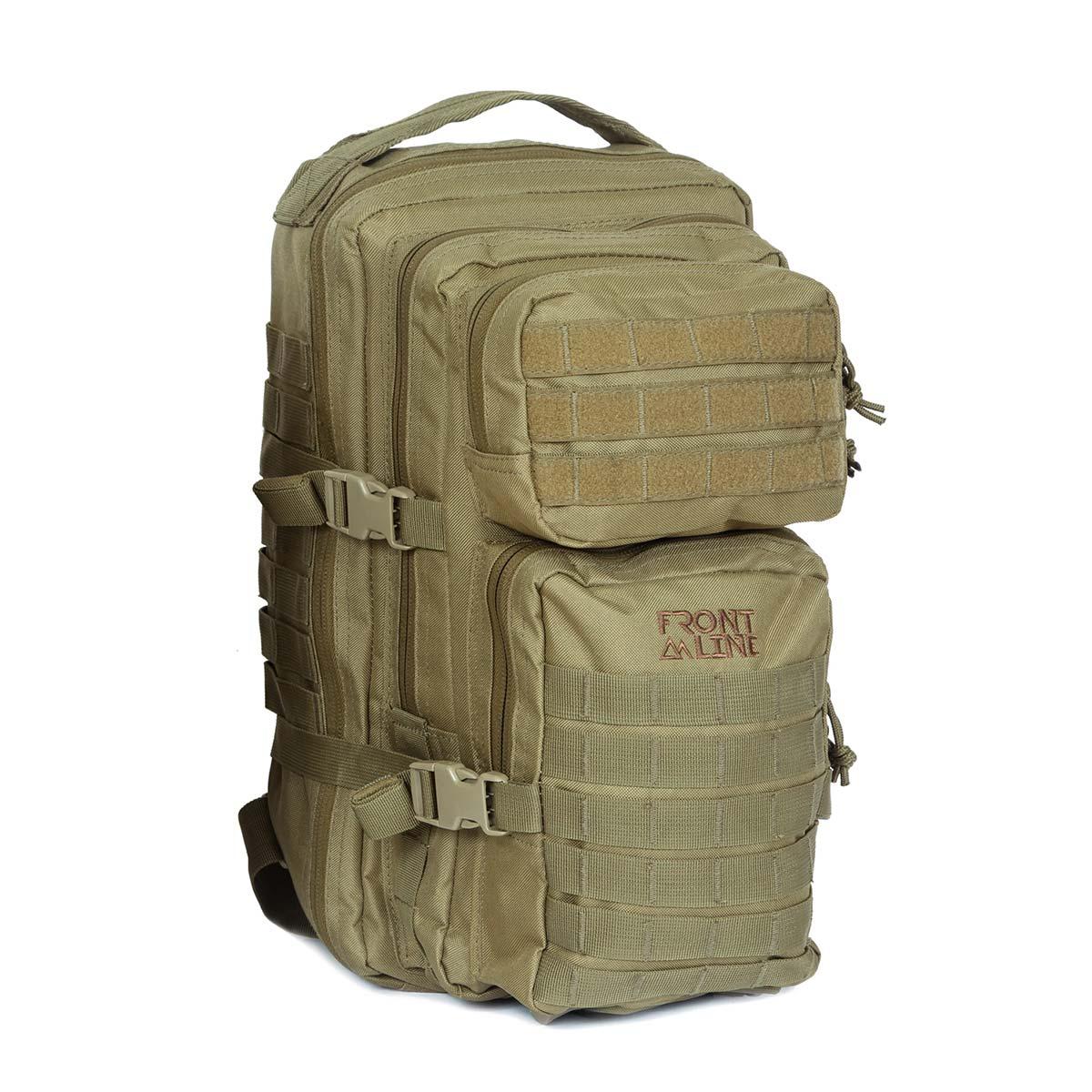 Front-Line-Tavor-2-Tactical-Backpack---Tan-1