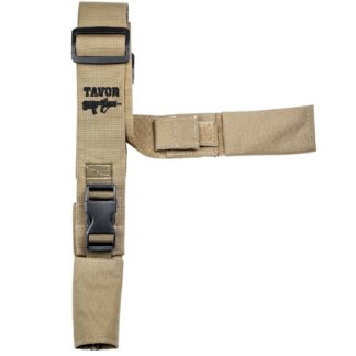 2-Point-Tactical-IDF-Sayeret-Rifle-Sling-tavor-logo-tan-