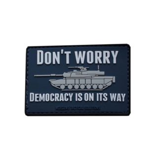 Moeguns Tactical Democracy is on its way PVC Morale Patch