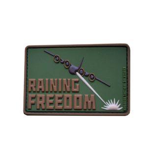 Moeguns Tactical Raining Freedom PVC Morale Patch