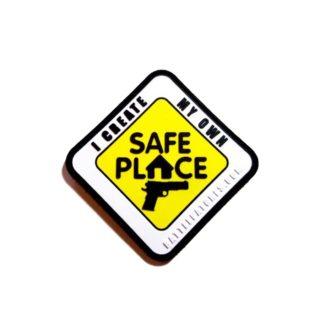 Battle Patches SAFE PLACE PVC Morale Patch