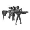 FAB Defense Bi-pod T-POD-G2 Black AR15