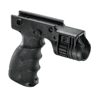 FAB Defense Tactical Ergonomic Foregrip /w Flashlight Holder T-GRIP