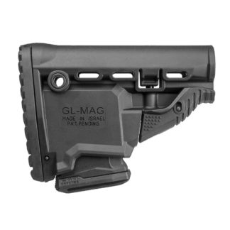 """FAB Defense GL-MAG AR15/M16 """"Survival"""" Stock w/ Built-In Magazine Carrier"""