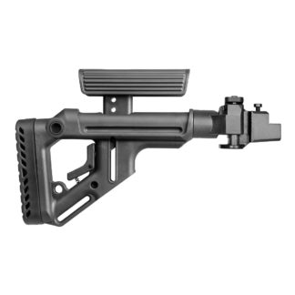 FAB Defense AK-47 Tactical Folding Stock w/ Cheek Rest (Steel Joint)