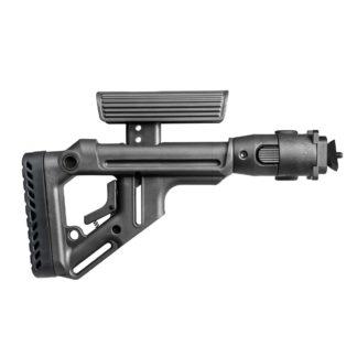 FAB Defense Milled AK-47 Tactical Folding Stock w/ Cheek Rest
