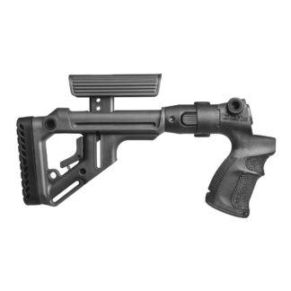 FAB Defense Mossberg 500 Tactical Folding Stock w/ Cheek Rest + Grip