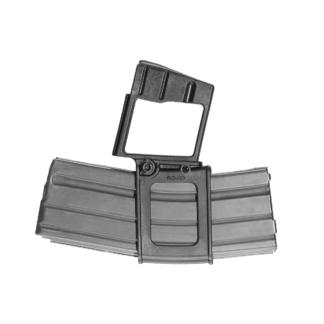 FAB-Defense-AR15-M16-Polymer-5.56x45-NATO-Horizontal-Magazine-Carrier-2D