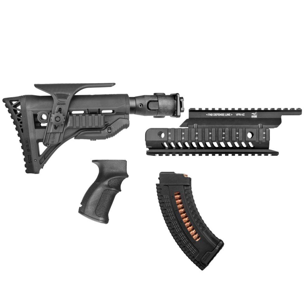 FAB Defense VZ-58/CZ-858 Conversion & Accessory Kit – Marksman w/ Cheek Rest