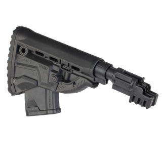 FAB Defense Shock Absorbing M4 Style AK-47 Stock (Stamped) w/ GK-MAG