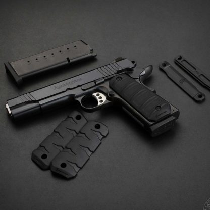 Recover-Tactical-1911-Rubber-Grip-Panels-black