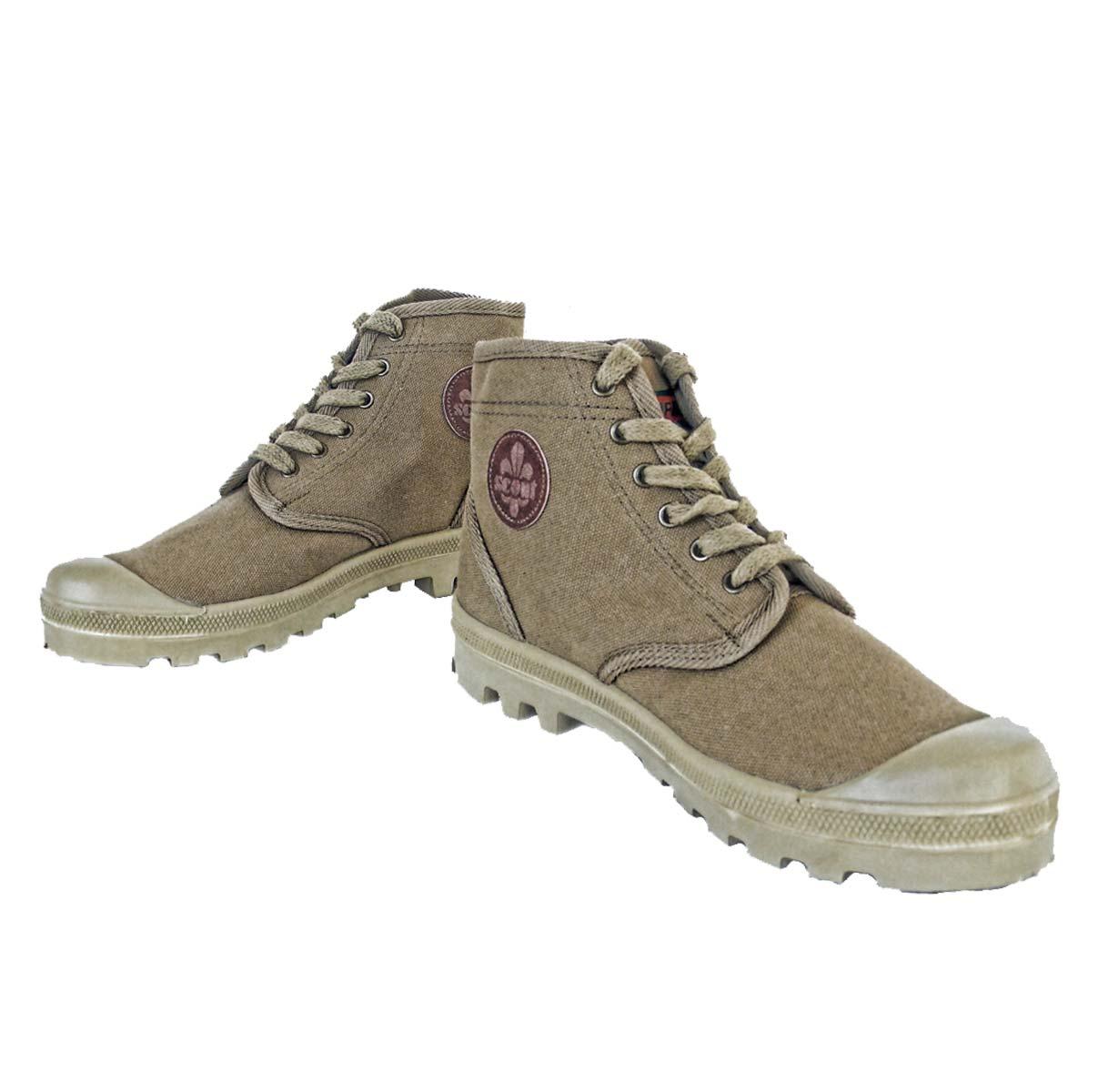 Scout Commando Canvas boots