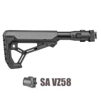 FAB Defense M4 Folding SA VZ58 Stock w/ GL-Core Stock