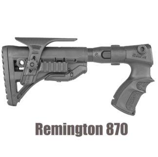 FAB Defense Remington 870 Collapsible Folding Recoil Reduction Stock GL-Shock + Grip