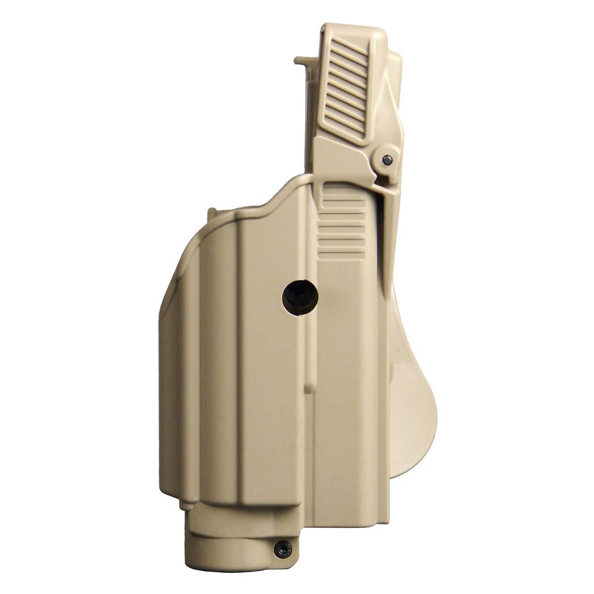 imi-defense-tactical-laser-light-level-2-holster-tan - ZAHAL