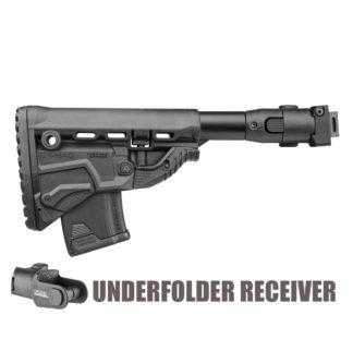 FAB Defense M4 folding AK-47 Stock (Underfolder AKMS) w/ GK-MAG