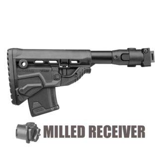 FAB Defense M4 Folding AK-47 Stock (Milled) w/ GK-MAG