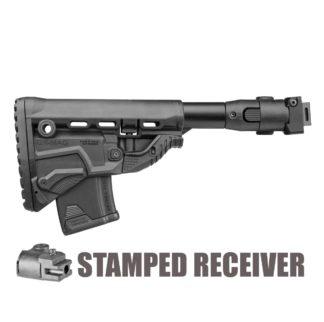 FAB Defense M4 Folding AK-47 Stock (Stamped) w/ GK-MAG & Extra 10 rnd magazine