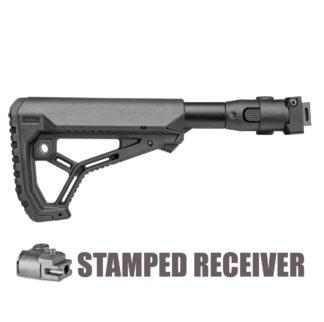 FAB Defense M4 Folding AK-47 Stock (Stamped) w/ GL-Core Stock
