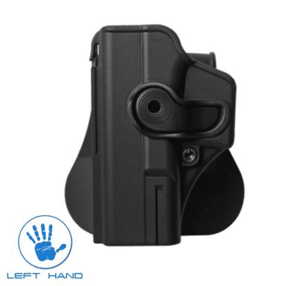 IMI-Defense-Level-2-Glock-19/23/25-Left-Hand-Holster-IMI-Z1020LH-Black