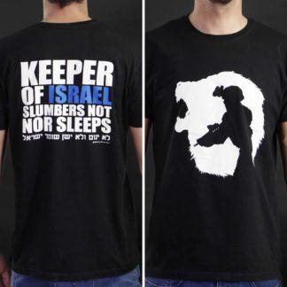 Keeper-Of-Israel-Soldier-Black-T-Shirt---1