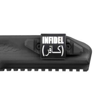 Custom Gun Rail Cover Infidel CGR
