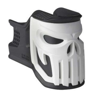 fab-defense-ar15-mojo-mag-well-grip-vigilante-skull-blk-white