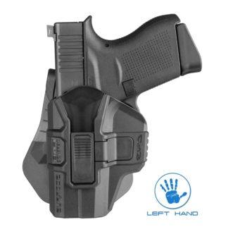 "FAB Defense Scorpus® M1 Level 2 Glock 43 Left Hand Holster ""G-43R LH"""