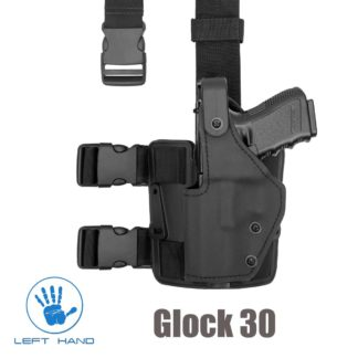 front-line-Tactical-thigh-rig-police-holster-level-3-glock-30-left-hand