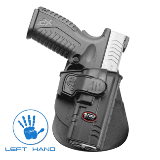 "Fobus Level 2 Springfield XD Full Size 9mm Left Hand Holster ""XDCH LH"""