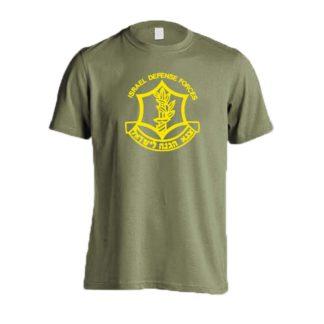 IDF-emblem-t-shirt-Olive