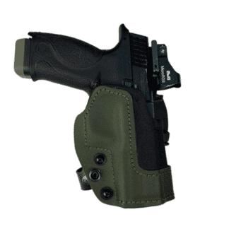 Front Line Open Top KNG Kydex Holster For Glock Models
