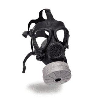 IN-STOCK---Israeli-Military-Gas-Mask-Includes-x1-Filter---Full-Face-Respirator-for-CBRN-Defense