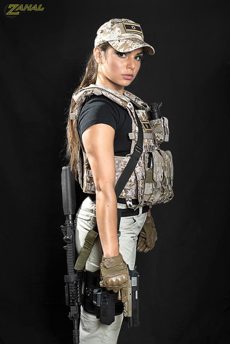 Zahal Girl Lovie Shooting Instructor