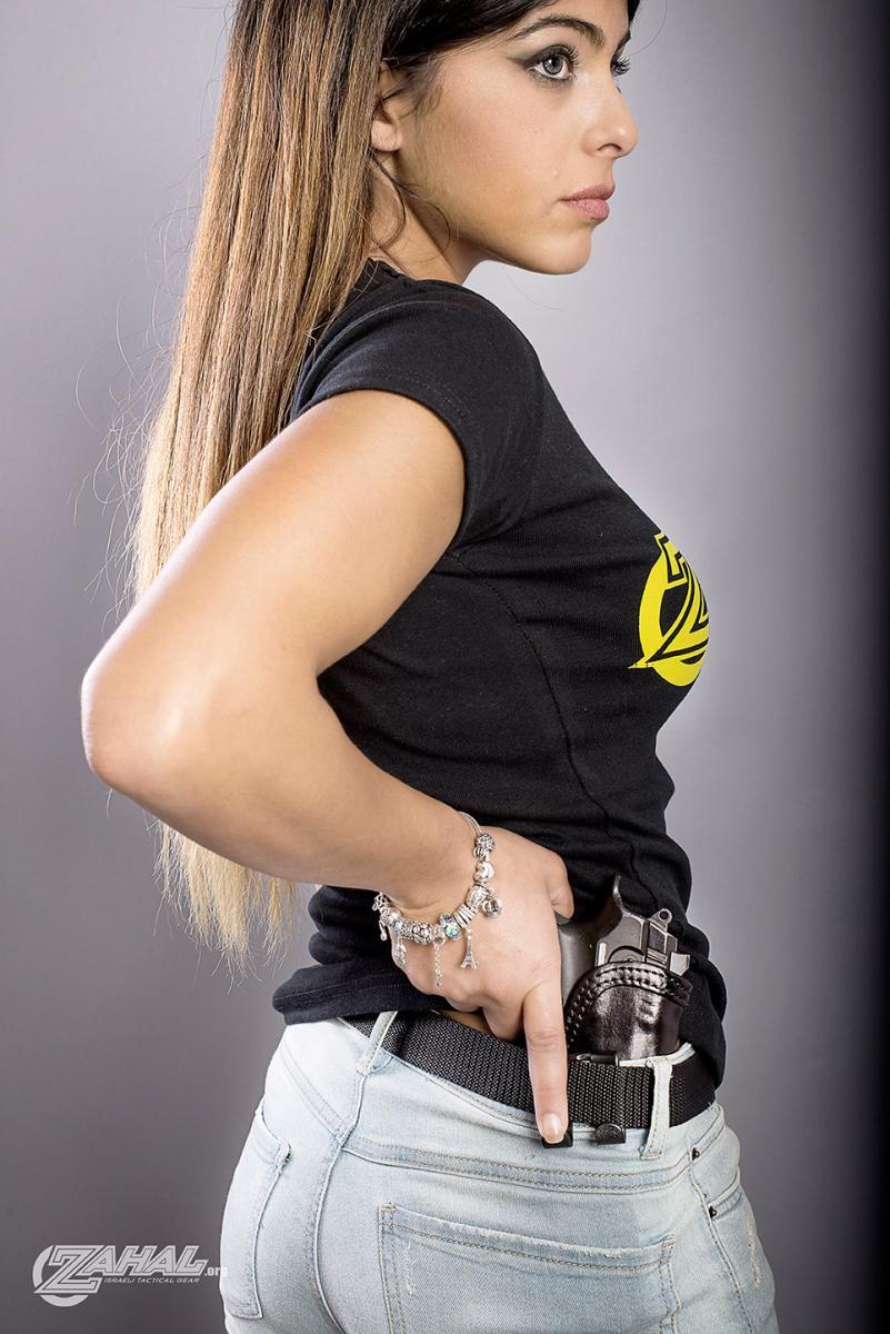 Zahal Girl Shir Shooting Instructor